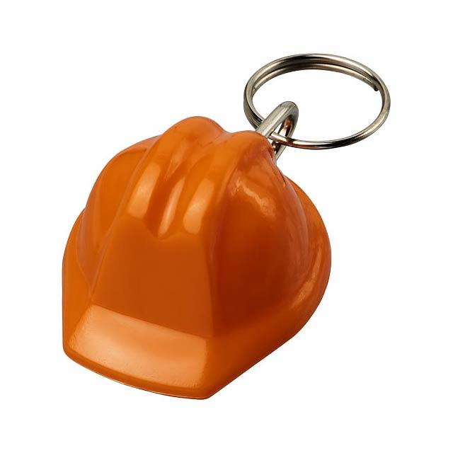 Klíčenka Kolt ve tvaru přilby - oranžová