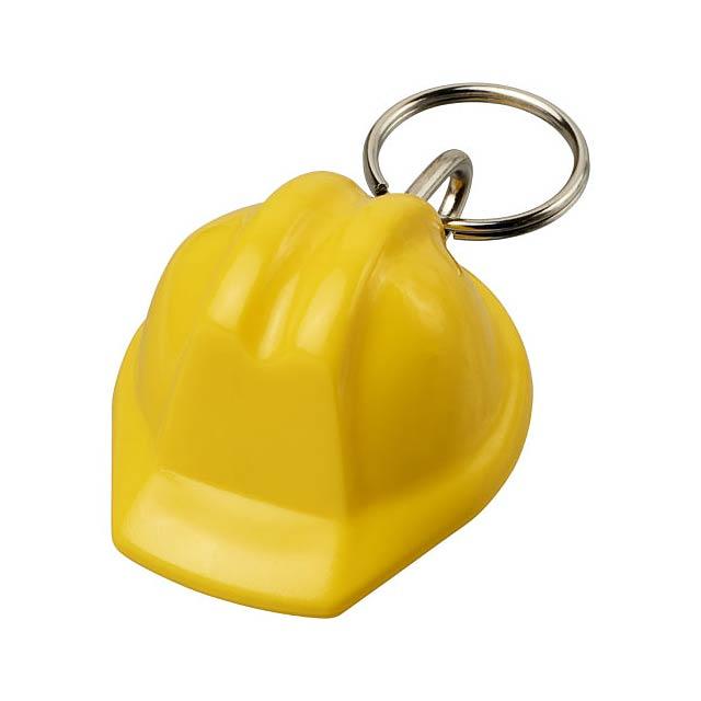 Klíčenka Kolt ve tvaru přilby - žlutá