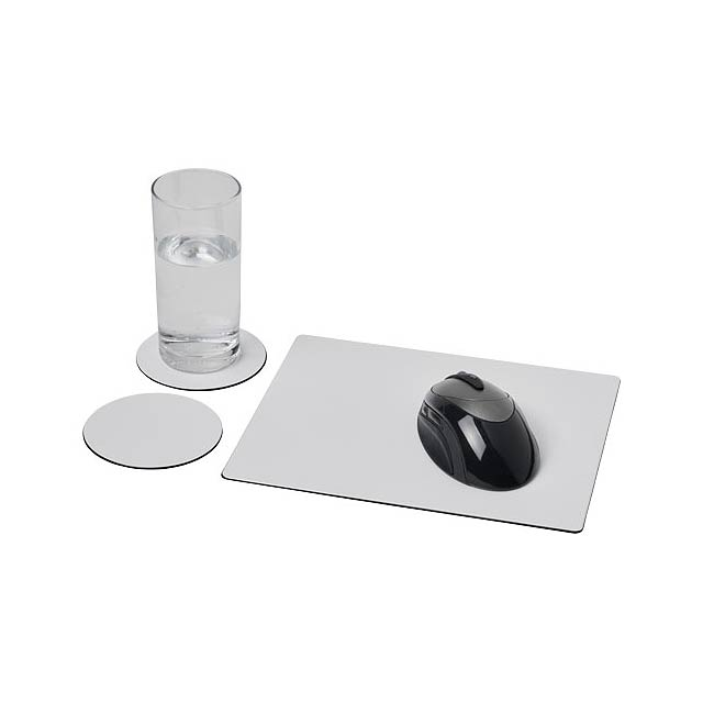 Podložka pod myš Brite-Mat® a sada tácků combo 2 - černá