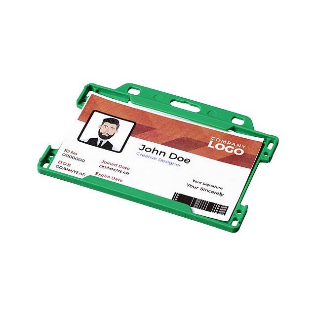 Pouzdro na plastové karty Vega - zelená
