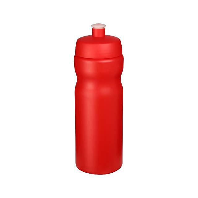 Baseline® Plus 650 ml sportovní lahev - transparentní červená