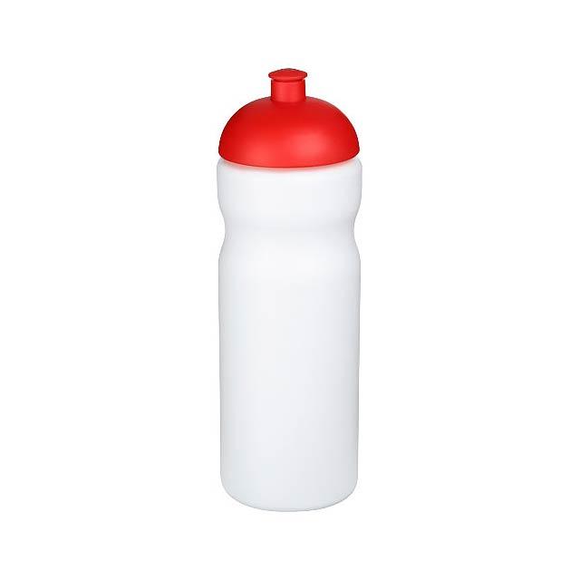 Sportovní láhev s kupolovitým víčkem Baseline® Plus 650 ml - bílá