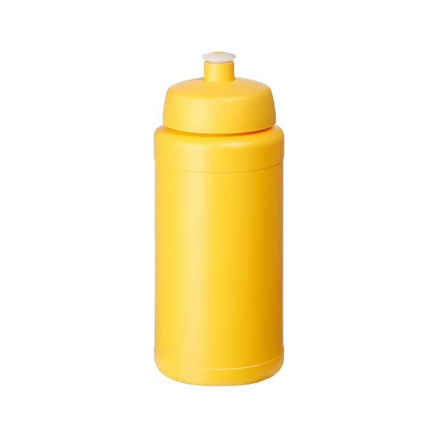 Baseline® Plus 500 ml lahev se sportovním víčkem - žlutá