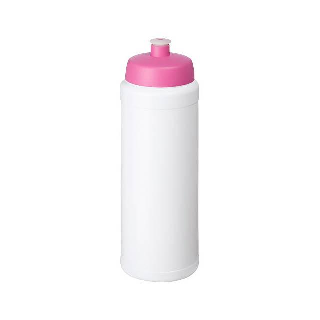 Baseline® Plus grip 750 ml sportovní lahev s víčkem na sport - bílá