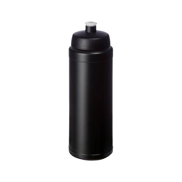 Baseline® Plus grip 750 ml sportovní lahev s víčkem na sport - černá