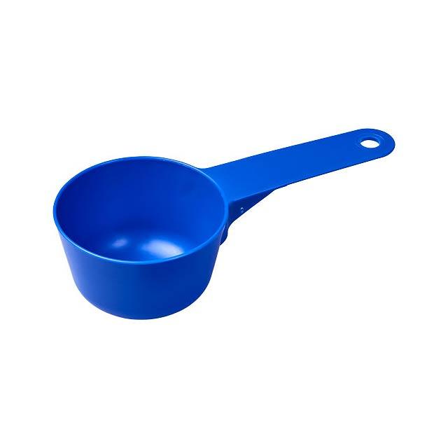 Plastová odměrná lopatka Chefz 100 ml - modrá