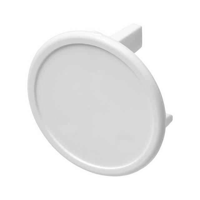 Plastová záslepka Tully pro britské zásuvky (3bodová) - bílá