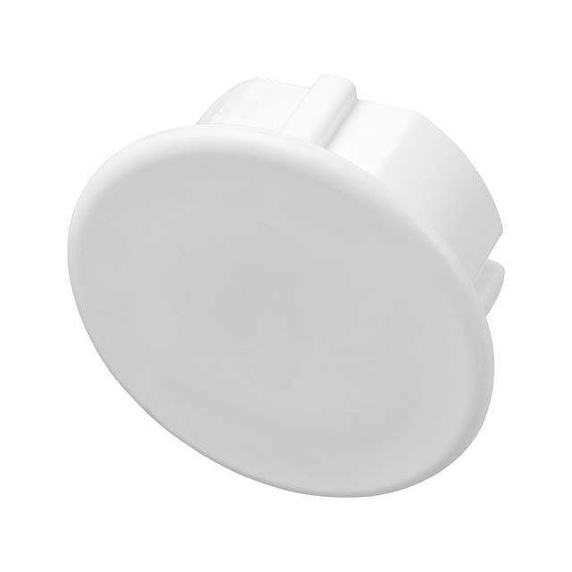 Plastová záslepka pro evropské zásuvky Tully (2-bodová) - bílá