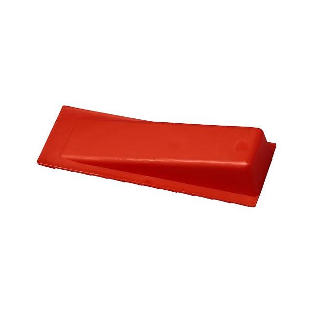 Dveřní zarážka Dana - transparentní červená