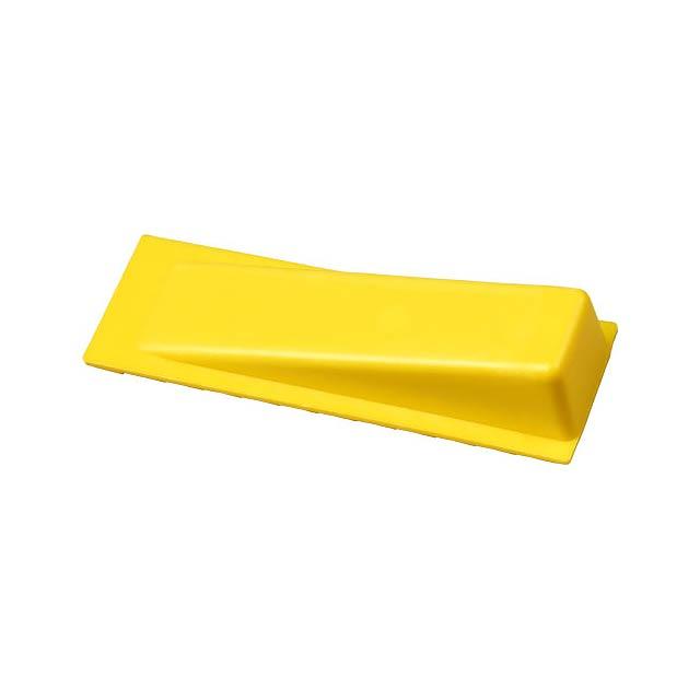 Dveřní zarážka Dana - žlutá