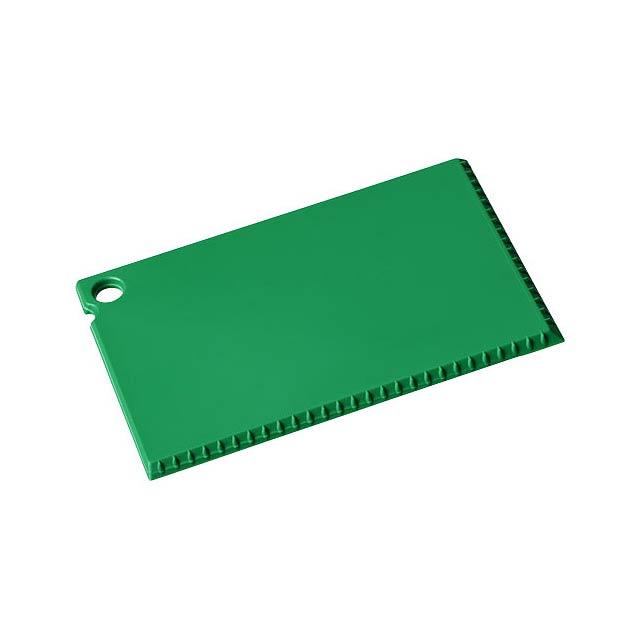 Škrabka na led Coro o velikosti platební karty - zelená