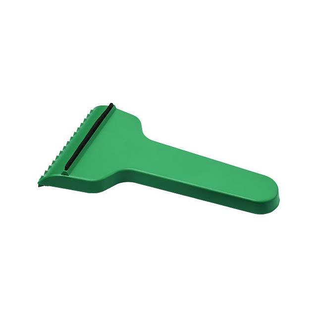 Škrabka na led Shiver ve tvaru T - zelená