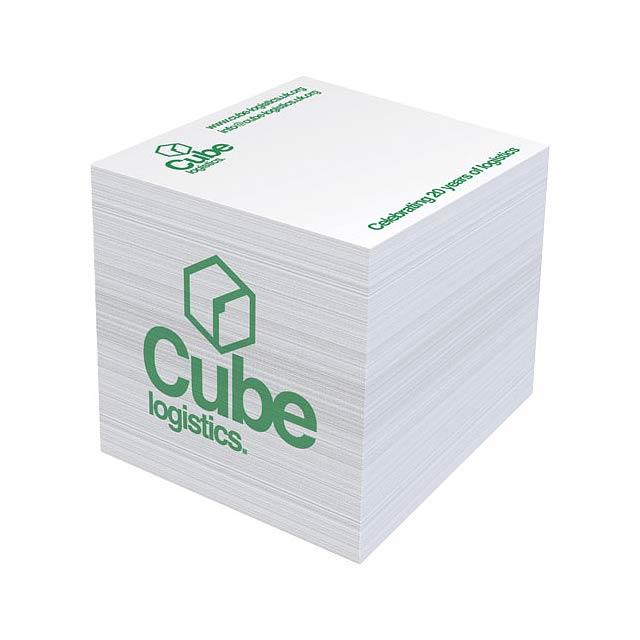 Velký poznámkový blok Block-Mate 4A 55x55 - bílá
