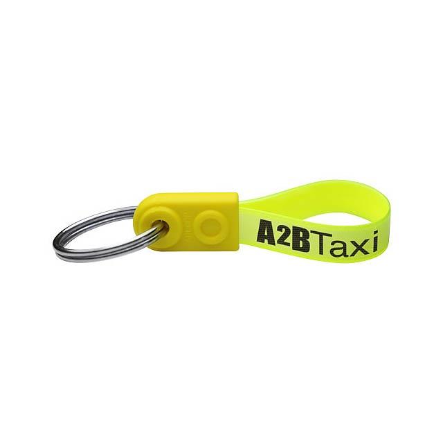 Klíčenka AD-Loop® Mini - žlutá