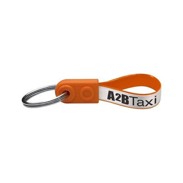 Klíčenka AD-Loop® Mini - oranžová
