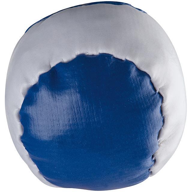 Barevný antistresový míč - modrá
