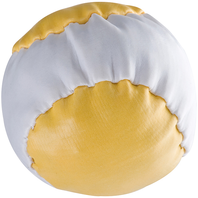 Barevný antistresový míč - žlutá