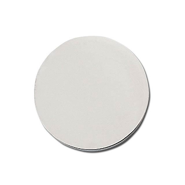 COIN CZ - kovový žeton o velikosti 10 Kč - stříbrná