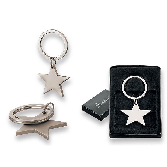 STELLAR - kovový přívěsek, SANTINI - stříbrná