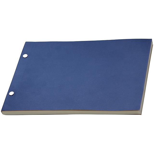 Poznámkový blok - modrá