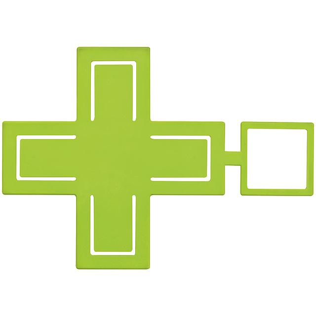 Držák na mobil cross - citrónová - limetková