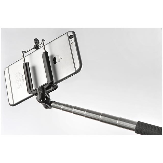 Selfie tyč - černá
