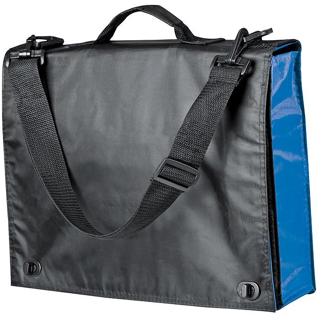 Nylonová konferenční taška - modrá