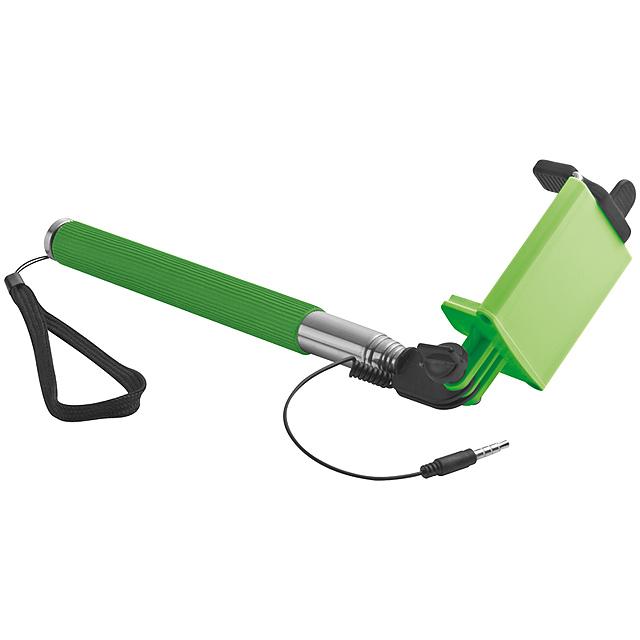 Selfie tyč - citrónová - limetková