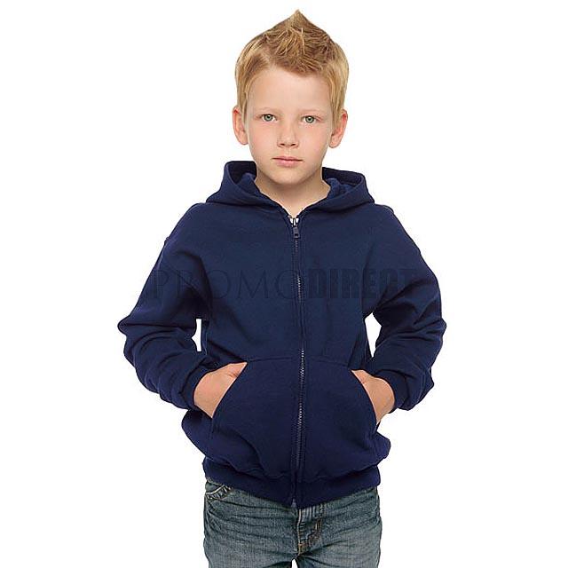 Gildan - Dětská mikina - bílá