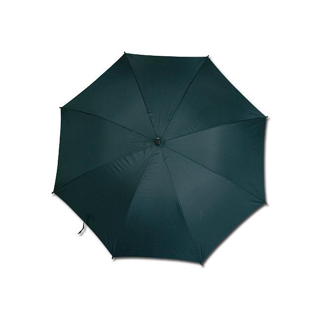 AUTOMATIC - polyesterový vystřelovací deštník, 8 panelů - černá