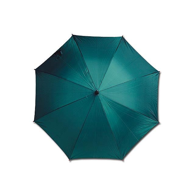 AUTOMATIC - polyesterový vystřelovací deštník, 8 panelů - zelená