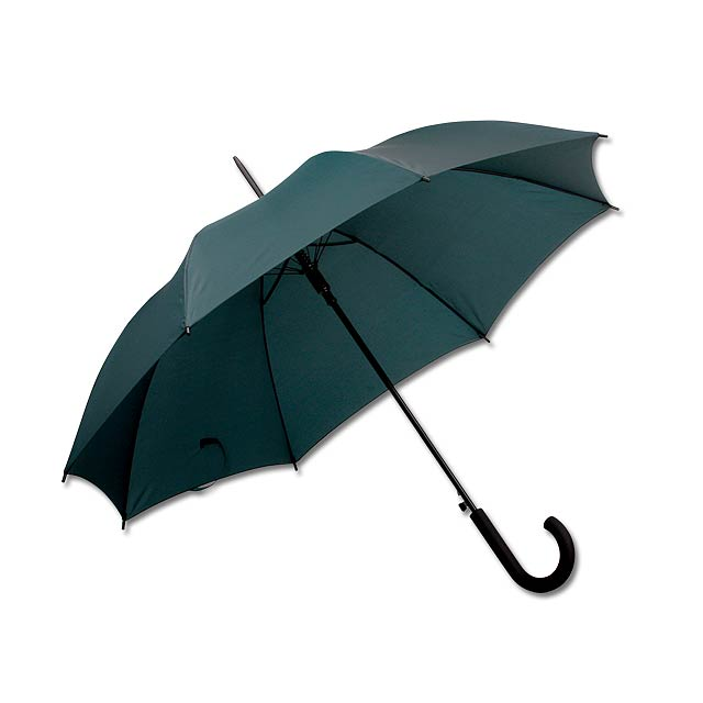 polyesterový vystřelovací deštník, 8 panelů - zelená - foto
