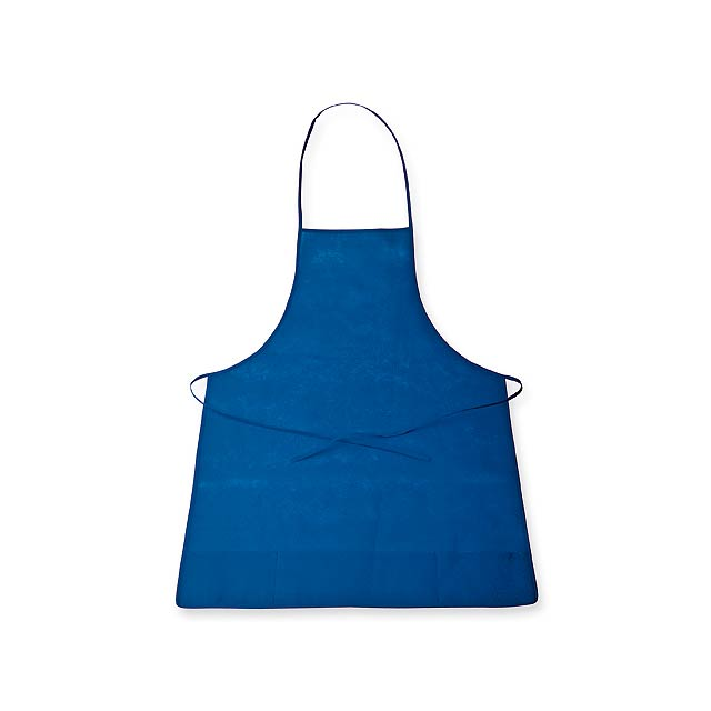 APRON - zástěra z netkané textilie, 70 g/m2 - modrá