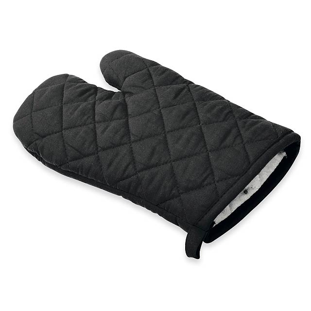 bavlněná chňapka - černá - foto