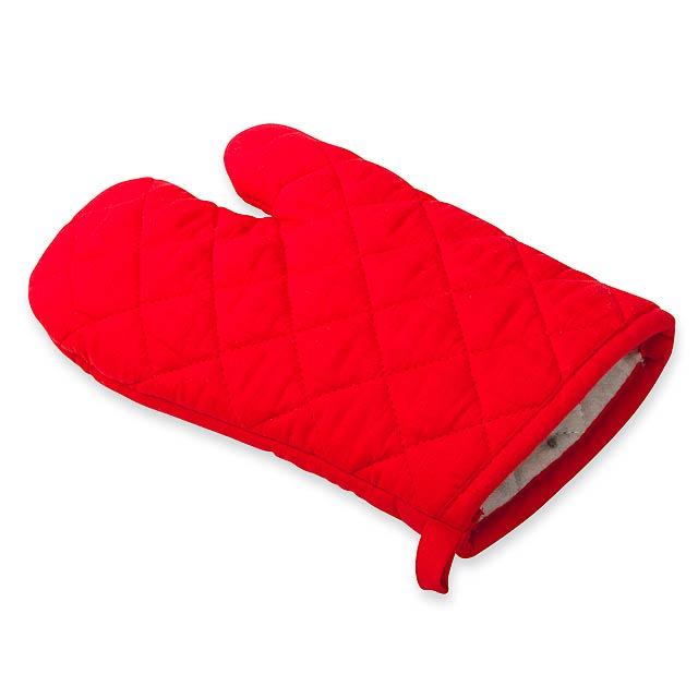 ANEKO - bavlněná chňapka - červená