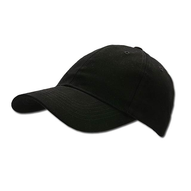 POPULAR CAP - baseballová čepice, COFEE - černá