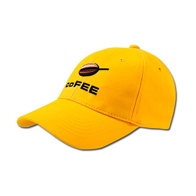 POPULAR CAP - baseballová čepice, COFEE - žlutá