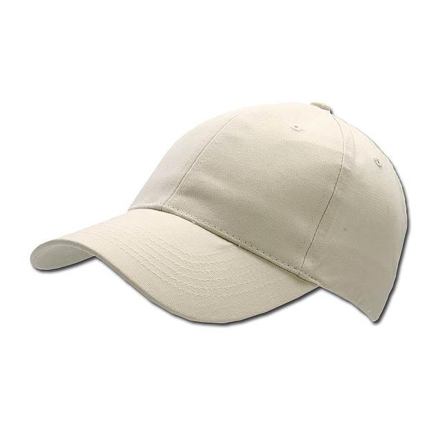 POPULAR CAP - baseballová čepice, COFEE - hnědá