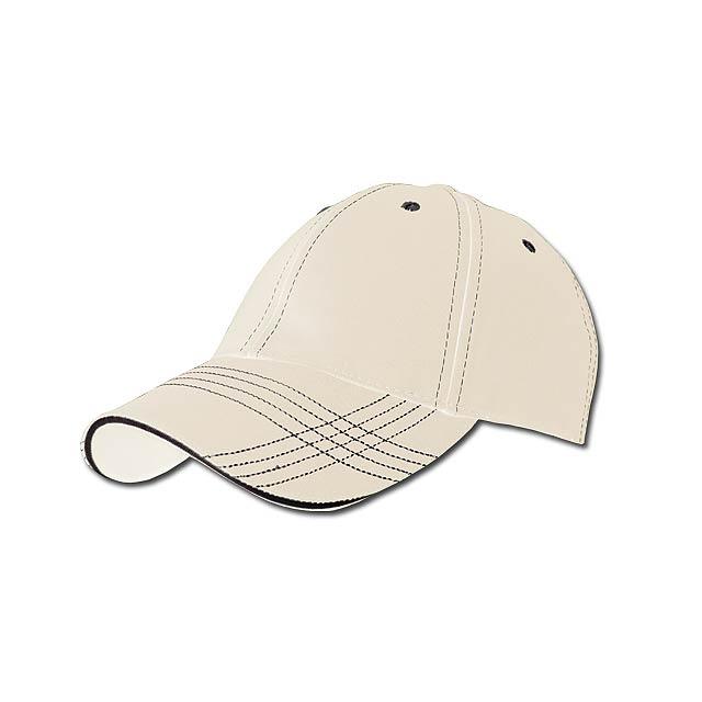TRENDY - baseballová čepice, COFEE - hnědá