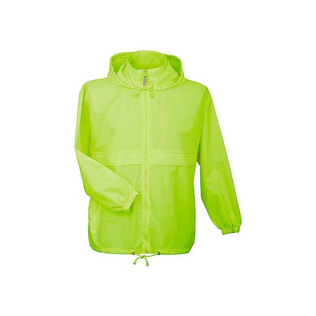 SIROCCO - unisex větrovka s kapucí, vel. M, B & C - žlutá