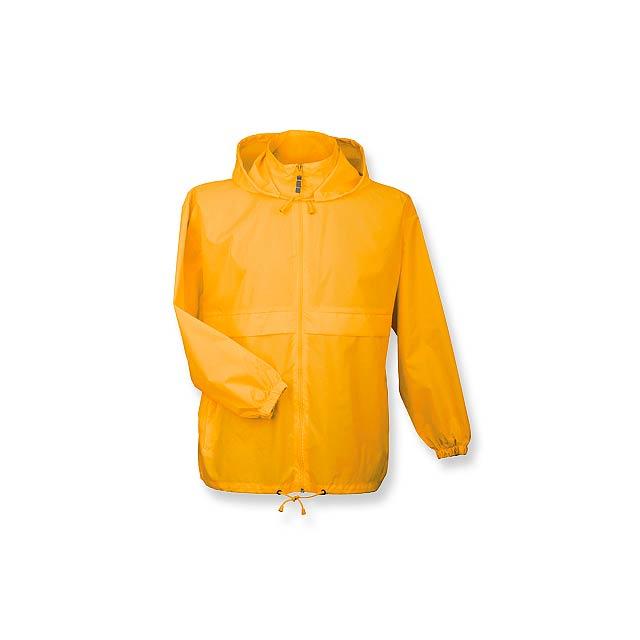 SIROCCO - unisex větrovka s kapucí, vel. XXL, B & C - žlutá