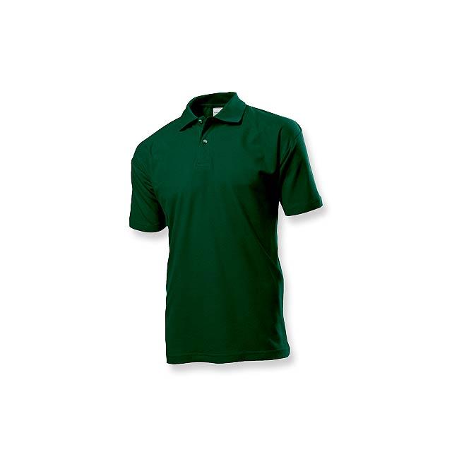 POLO MEN - pánská polokošile, 170 g/m2, vel. S, STEDMAN - zelená