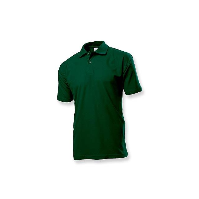 POLO MEN - pánská polokošile, 170 g/m2, vel. M, STEDMAN - zelená