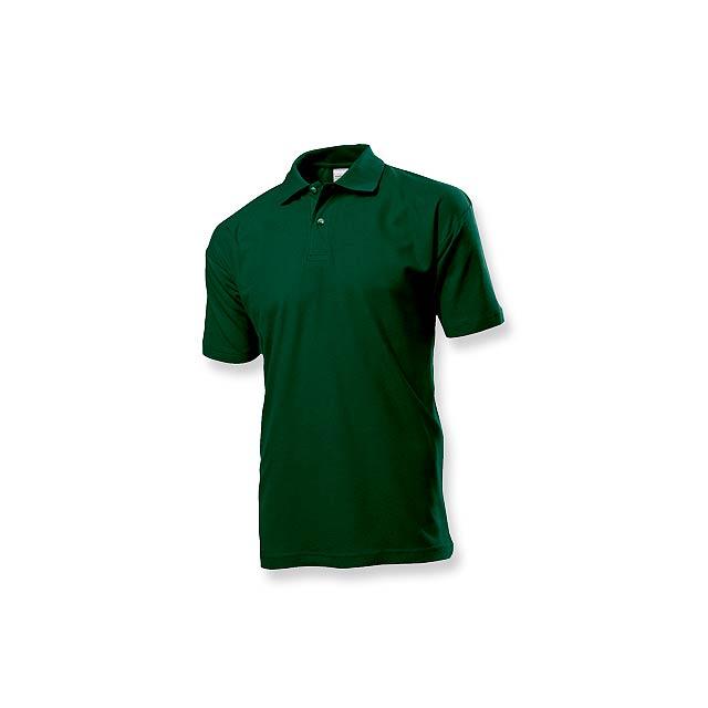 POLO MEN - pánská polokošile, 170 g/m2, vel. L, STEDMAN - zelená