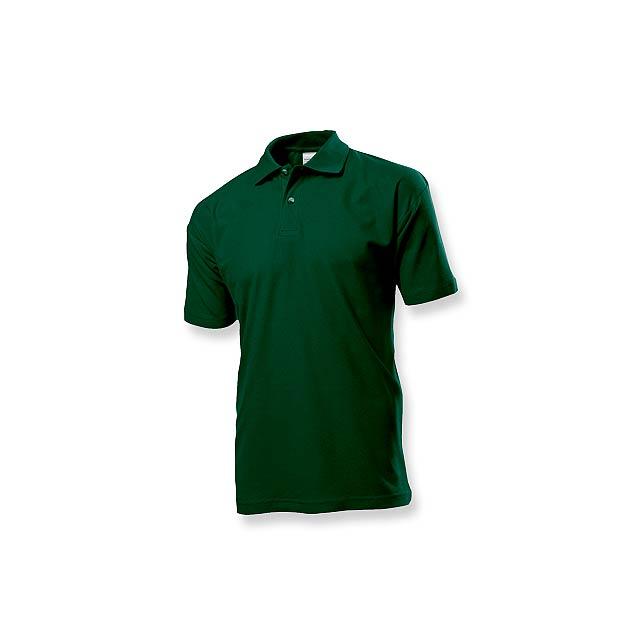 POLO MEN - pánská polokošile, 170 g/m2, vel. XL, STEDMAN - zelená