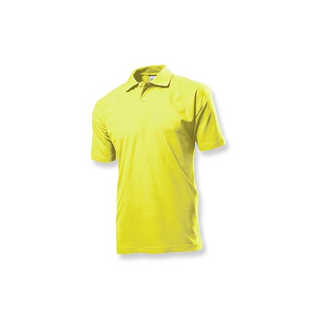 POLO MEN - pánská polokošile, 170 g/m2, vel. XXL, STEDMAN - žlutá