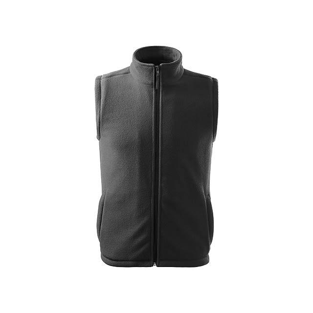 NEXT - unisex fleecová vesta, 280 g/m2, vel. S, ADLER - šedá