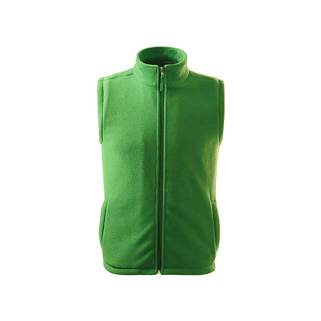 NEXT - unisex fleecová vesta, 280 g/m2, vel. L, ADLER - zelená