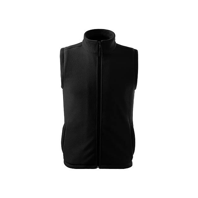 NEXT - unisex fleecová vesta, 280 g/m2, vel. XL, ADLER - černá