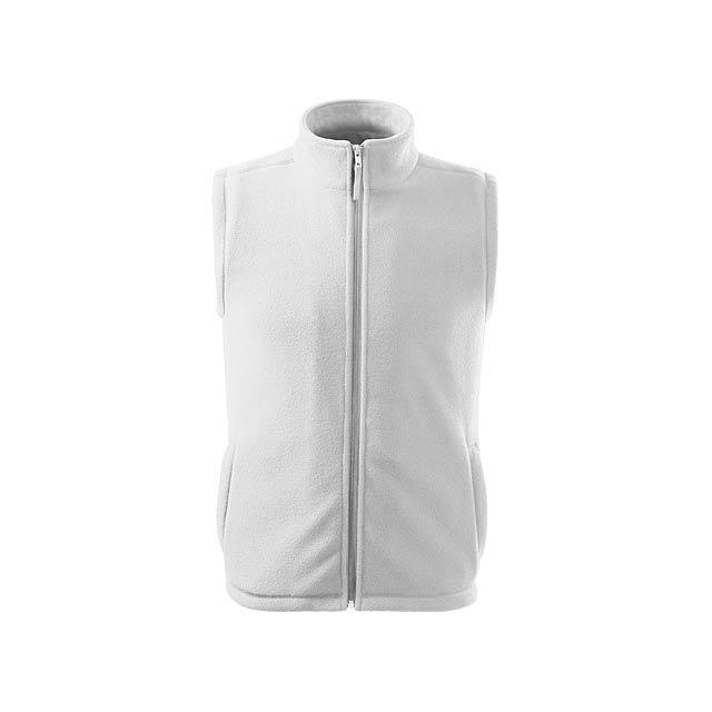 NEXT - unisex fleecová vesta, 280 g/m2, vel. XXL, ADLER - bílá
